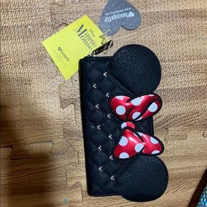 NWT Loungefly Minnie wallet